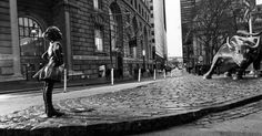 Why McCann Dropped a Statue of a 'Fearless Girl' Next to Wall Street's Charging Bull Overnight  #art #creativity