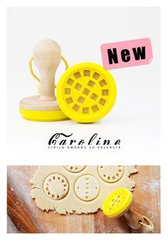 Molde / tampón para hacer galletas personalizadas, disponible en el espacio Caroline Concept Store, dentro del shopping center Place, en Cirilo Amorós 24 Valencia.