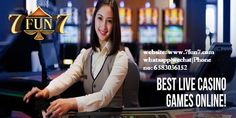 is one the best and real online Casino Gambling websites in Singapore. Visit to play online gambling games and win real money. is making the games all easier and intense will huge profit-making prospect. Gambling Games, Online Gambling, Live Casino, Best Casino, Play Online, Online Games, Online Poker, Casino Sites, Going Crazy