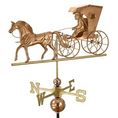 Country Doctor Weathervane - Polished Copper By Good Directions Products USA