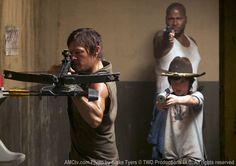 Bad Boys.  The Walking Dead Season 3 Episode Photos