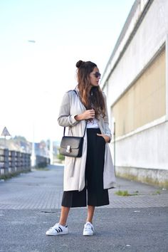 culottes + sneakers | skirttheceiling.com