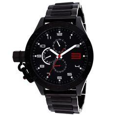 Kr3W Men's Krucible Watch in Black