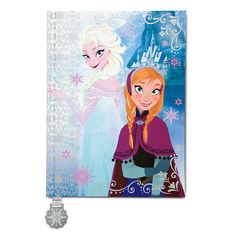 Anna and Elsa Journal - Frozen | Stationery | Disney Store | $17