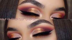 Warm Half Glitter Cut Crease | Violet Voss Holy Grail Palette