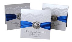icanhappy.com royal blue wedding invitations (06) #weddinginvitations