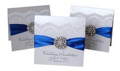 icanhappy.com royal blue wedding invitations (06) #weddinginvitations