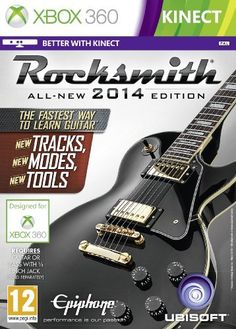 Good news for Rocksmith guitar game fans. Rocksmith 2014 Edition (PC, Xbox 360 and Playstation You need a real guitar to play this game! Xbox 360, Avenged Sevenfold, Xbox One Games, Ps4 Games, Playstation Games, Wii, Videogames, New Hit Songs, Guitars