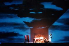 Lady Macbeth of Mtsensk. Teatro Real, Madrid. Scenic design and projections by Tito Egurza. 1999