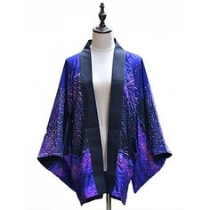 Pre-order Sakura and Firework Printed Haori by Doris Night