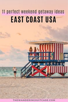 Live on the East Coast, USA? This guide to East Coast vacation ideas is for you! Covering weekend getaways and romantic weekend getaways. Whether you live in New York City, Boston or Miami, we've got you covered.  via @wanderingsuitca Vacation Places In Usa, Weekend Vacations, Weekend Trips, Long Weekend, Weekend Getaways, Vacation Ideas, Weekend Breaks, Canada Travel, Asia Travel