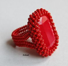 Szikati oldala - Beautiful red ring