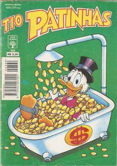 Tio Patinhas #369 - Editora Abril, 1996                                                                                                                                                                                 More