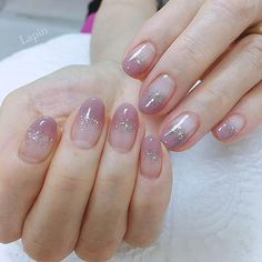 Pin on Ногти The enthusiasm of the summer is here, it's time to shine the nails! In the sun, the fingertips emit fascinating light, and the personality is… Gradient Nails, Holographic Nails, Stiletto Nails, Coffin Nails, Acrylic Nails, Gradation Nail, Solid Color Nails, Nail Colors, Cute Nails