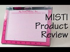 Review of the MISTI Stamping Tool - YouTube