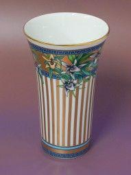 Rosenthal Versace Vase Wild Flora