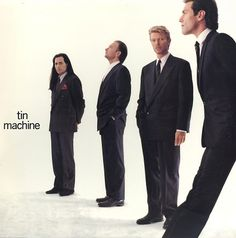 "May 22, 1989: David releases Tin Machine, which were inspired by sessions with guitarist Reeves Gabrels, Hunt Sales (drums), Tony Sales (bass) and a ""fifth member"" Kevin Armstrong who provided rhythm guitar. The Sales brothers are sons of the American comedian, Soupy Sales. https://en.wikipedia.org/wiki/Tin_Machine_(album)"