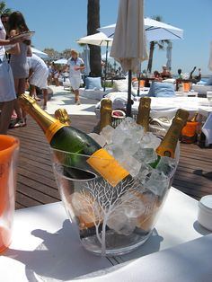 Soak and spray: Champagne Party at the Ocean Club Marbella Spain, Ibiza Party, Nikki Beach, Ibiza Beach, Champagne Party, Veuve Clicquot, Good Notes, Summer Of Love, Favors