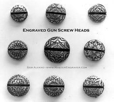 American Gun Engravers | Sam Alfano's Tips & Tricks for Hand Engravers - Engraving a Rosette