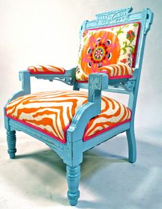 Happy Chair by Shawna Robinson