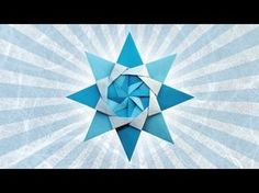 Origami Bascetta Star by Paolo Bascetta (Folding Instructions) - YouTube -Tutorial - video - diy