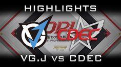 VG.J vs CDEC DPL 2017 Highlights Dota 2