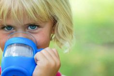 Kupp' kid safe drinking glasses look adult, but are covered in a safe silicone in great colors