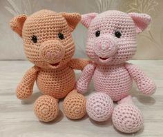 Купить Поросята вязаные - розовый, игрушки, игрушки вязаные, поросята, поросенок, поросята вязаные