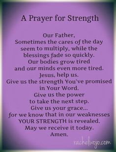 Strength - desperately needing this right now!