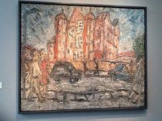 Leon Kossoff Artist Painting Frieze Art Fair Masters Exhibition London