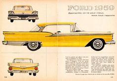 1959 Ford Fairlane 500 Club Victoria