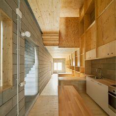 5m Wide Home Refurbished by Josep Ferrando | http://www.yellowtrace.com.au/josep-ferrando-5m-wide-barcelona-home/