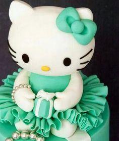 Ballerina Hello Kitty Cake