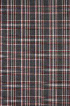 Polyesterviskosekaro / Schottenkaro grau - rot von incocnito auf DaWanda.com