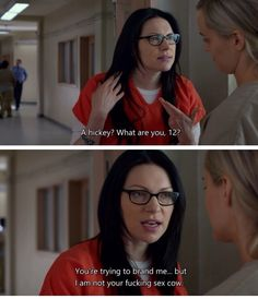 Alex and Piper. Orange is the New Black Season 3
