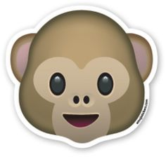 Monkey Face   Emoji Stickers Mono Emoji, Images Emoji, Emoji Clipart, Emoji Drawings, Tumblr Png, Emoticon Faces, Emoji Movie, Emoji Stickers, Emoji Wallpaper