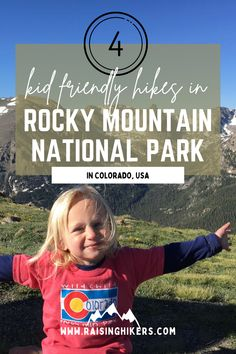 These are the best 4 day hikes in Rocky Mountain National Park with kids. This itinerary encompasses kid friendly hikes that include forests, lakes, vistas, waterfalls, and alpine tundra. Along with everything you need to know for hiking in Colorado! #RockyMountainNationalPark #RMNP #HikingwithKids #NationalParks #Colorado National Park Pass, National Parks Map, Rocky Mountain National Park, Grand Lake, Hiking With Kids, Colorado Hiking, 5 Kids, Day Hike, Top Of The World
