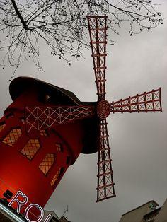 Pigalle Quarter, Moulin Rouge, 82 Boulevard de Clichy, Paris XVIII