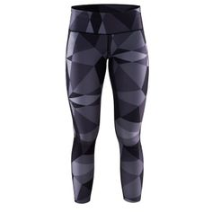 Create a comfortable base for active workout ensembles with this lightweight pair that features an ergonomic design for reliable movement. Print Tights, Sport Craft, Sports Equipment, Fitness Inspiration, That Look, Pure Products, Geo, Pants, Training