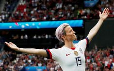 How Megan Rapinoe and the U. Beat France at the World Cup – The New York Times – Daily Sports News & Live Stream Fotball Channel Megan Rapinoe, Ballon D'or, Camille Abily, Oncle Sam, Donald Trump, International Soccer, World Cup Champions, Singing The National Anthem, Men Are Men