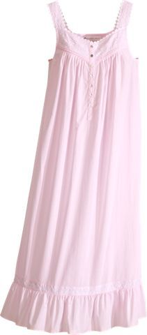 Eileen West Spring Song Cotton Embroidered Nightgown