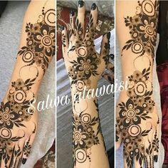 Khafif Mehndi Design, Rose Mehndi Designs, Henna Hand Designs, Mehndi Designs 2018, Mehndi Designs For Beginners, Mehndi Designs For Girls, Mehndi Design Photos, Mehndi Designs For Fingers, Dulhan Mehndi Designs