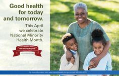30 Years of Advancing Health Equity. The Heckler Report: A force for Ending Health Disparities in America In recognition of National Minority Health Month and the 30th anniversary of the Heckler report, OMH has released a series of posters.  More information and tools around this occasion are found at http://minorityhealth.hhs.gov/nmhm/templates/toolkit.aspx