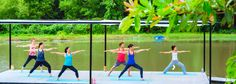 Banner Museflower Retreat And Spa Hatha Yoga On Lake On Water Best Yoga Chiang…