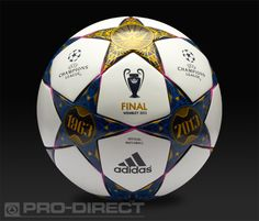 adidas Footballs - adidas Finale Wembley Official Match Ball - Football Balls - White-Pantone-Vivid Pink