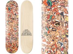 "Marc Jacobs ""Hands"" Skateboard Deck"
