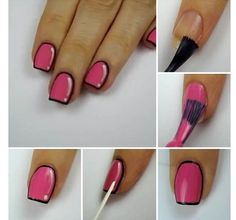 Cute Step By Step Comic Book Style Nails