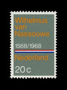 zegel The Netherlands 1968