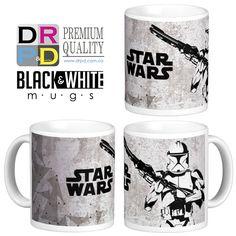 #starwars #Mugs #blackandwhite #new #11oz tazas sublimadas #tazaspersonalizadas #felicidadyproductividad