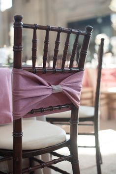 Chair Bow by All Seasons Event Rental